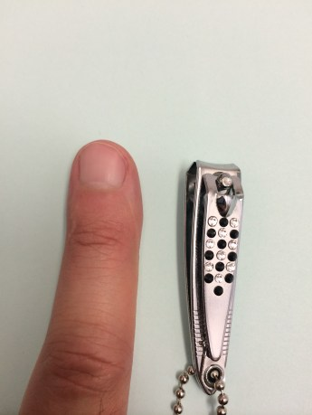 Nail clipper after