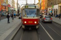 Prague videos, tram in Prague