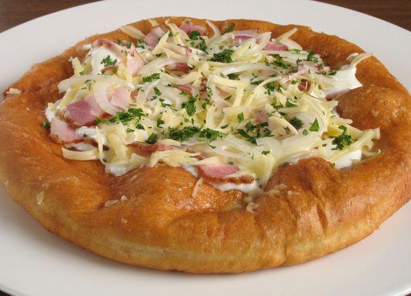 langosh recipe, czech langosh, hungarian flat bread