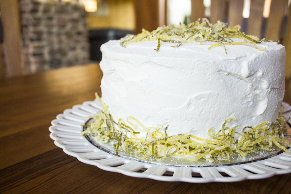 Lemon Birthday Cake Czech In The Kitchen