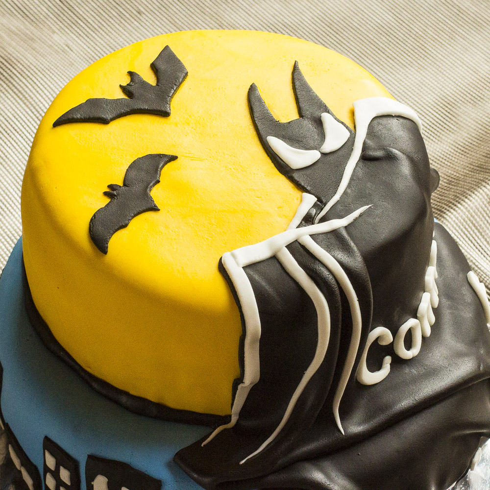 Needless To Say I Scoured The Internet For Images And Many Of Them Were Very Similar Blue Yellow With A Black Batman Logo But There Was One