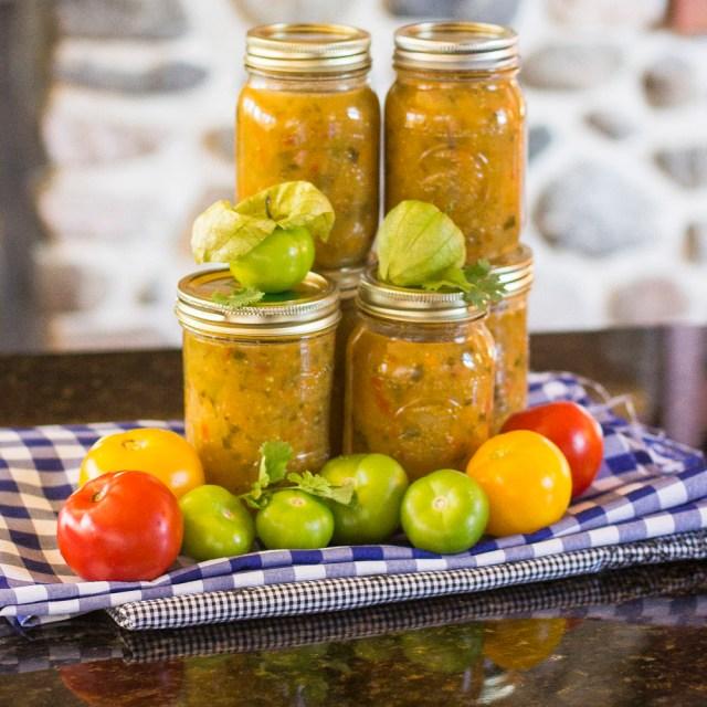 Chunky Tomatillo Salsa0069