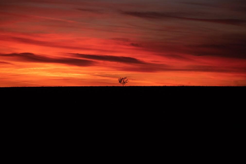 Morawski zachód słońca