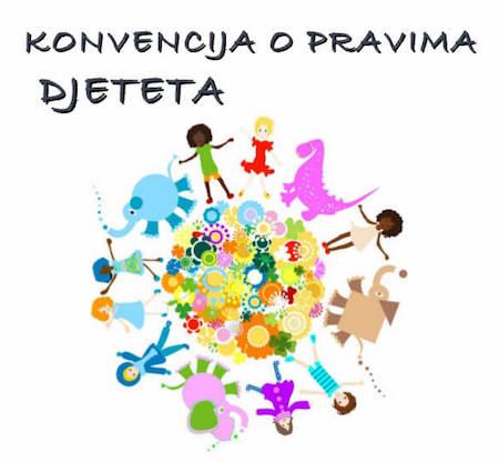 konvencija o pravima djeteta - dekorativna slika konvencije