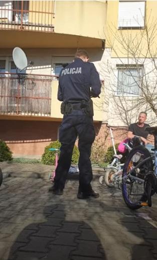 Polska Policja tłumaczy się.