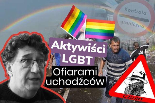 Aktywiści LGBT ofiarami uchodźców.