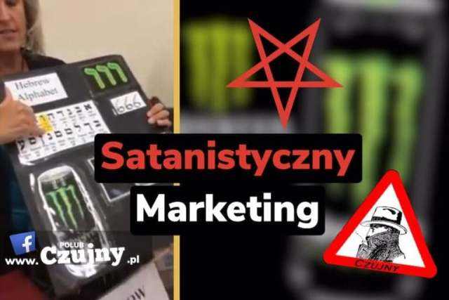 Satanizm jako chwyt reklamowy.