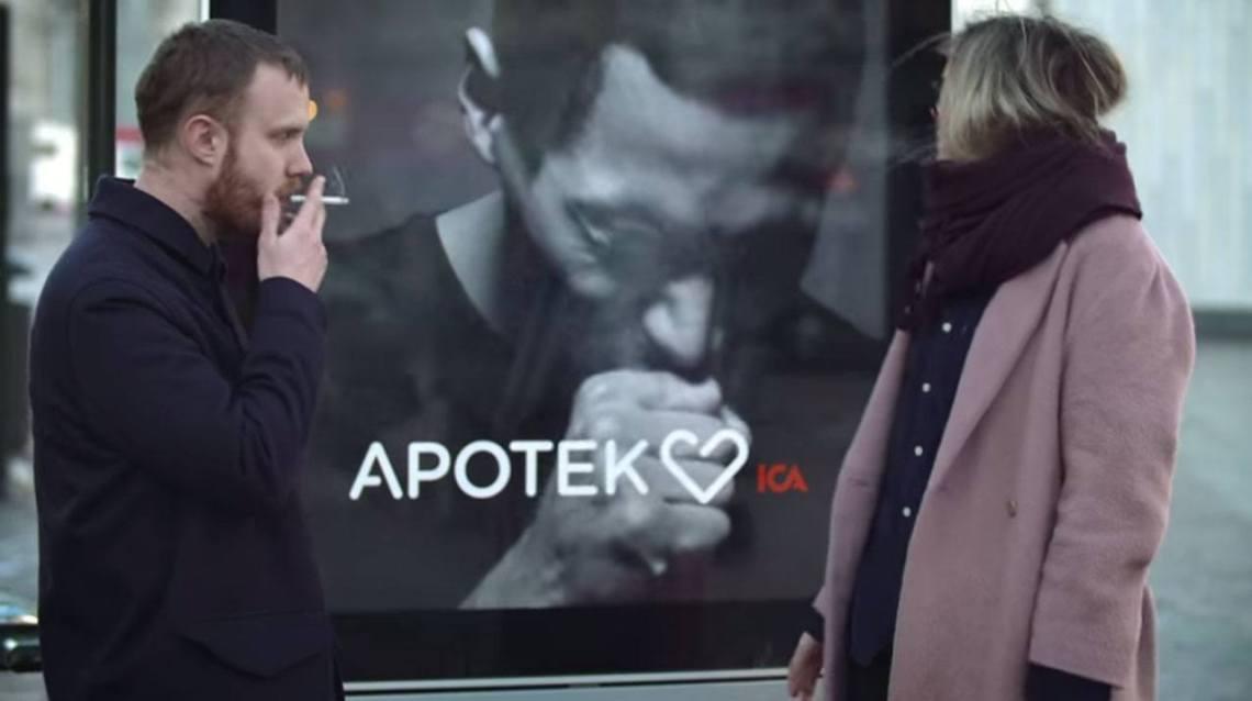 apotek digital signage