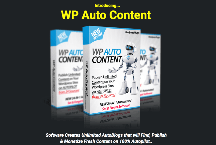Get Fresh Content For Your Websites and Blogs on Autopilot with WP AutoContent 2