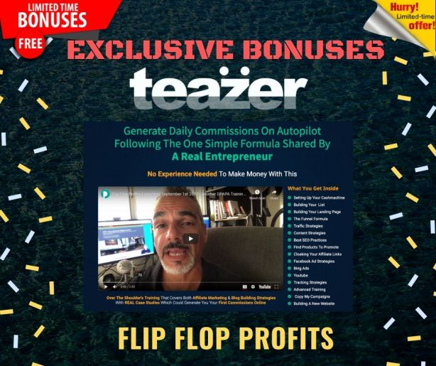 Your First Dollar Online with the TEAZER App 7