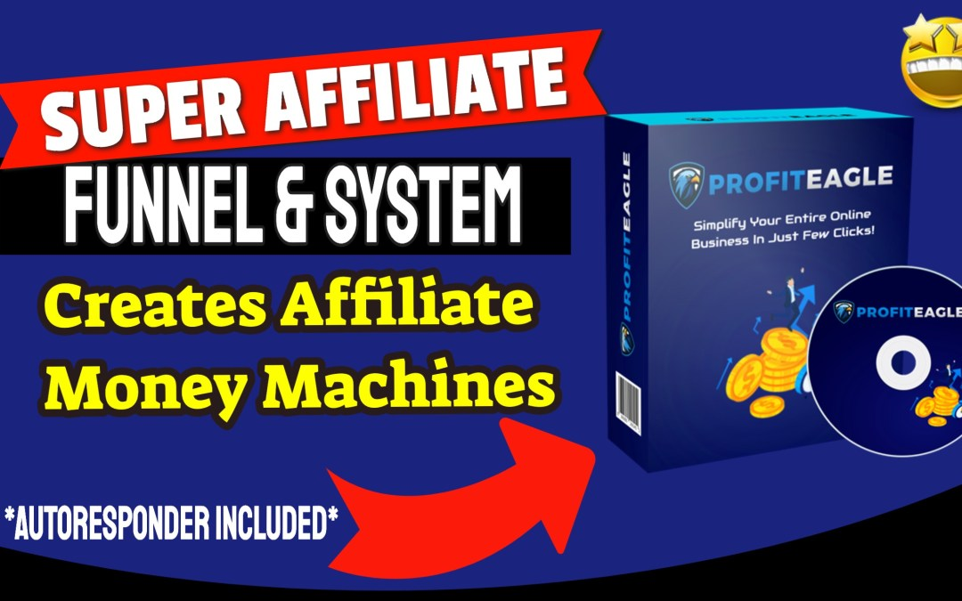 Create Profitable Super Affiliate Funnels in 60 seconds (With Autoresponder Included!)