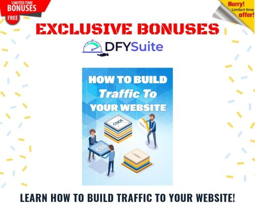Get Free Targeted Buyer-Traffic In 48 Hours Or Less For Any Website or Offer | DFY Suite 2.0 11