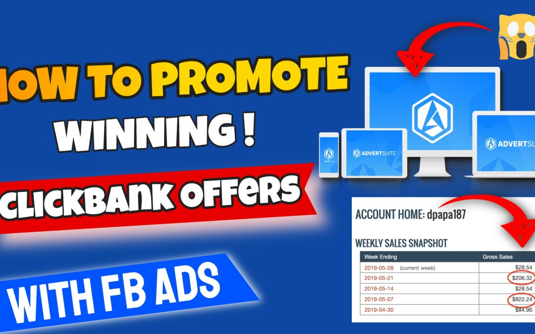 How To Gain An Unfair Advantage In The Affiliate Game with Advertsuite