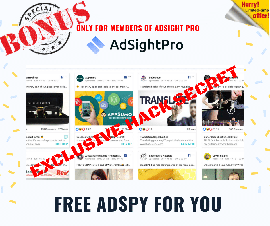 Uncover Hidden Data for Cheaper Clicks & More Profit from your FB Ad Campaigns | Adsight Pro 5