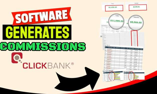 Reverse Income Software Generates AUTOPILOT Commissions with Clickbank