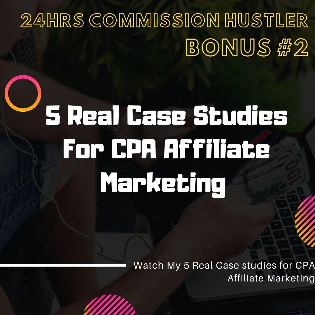 24 Hours Commission Hustler | Case Study : A New Traffic Hack Which Can Generates $300/day and More... 8