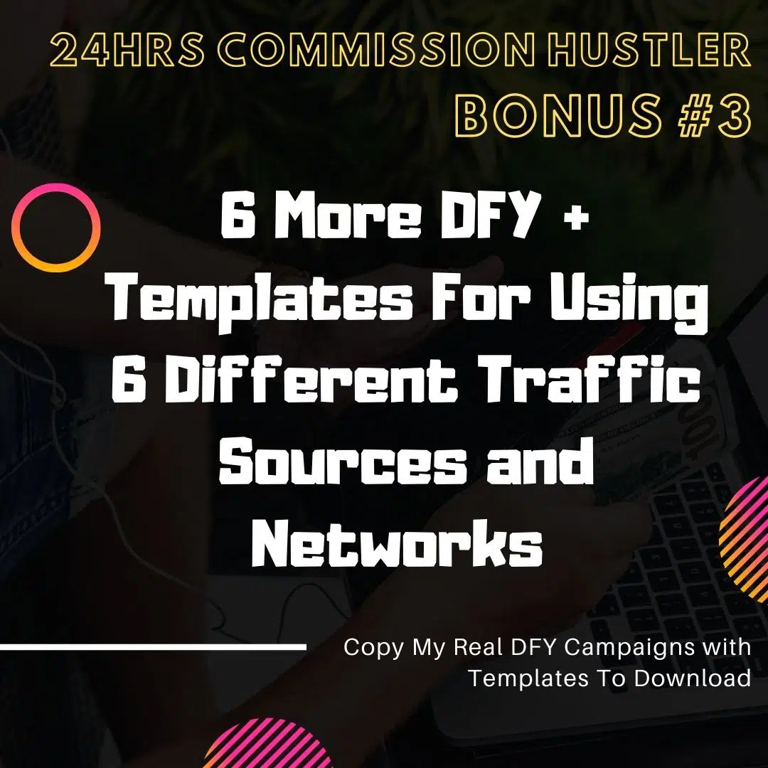24 Hours Commission Hustler | Case Study : A New Traffic Hack Which Can Generates $300/day and More... 9