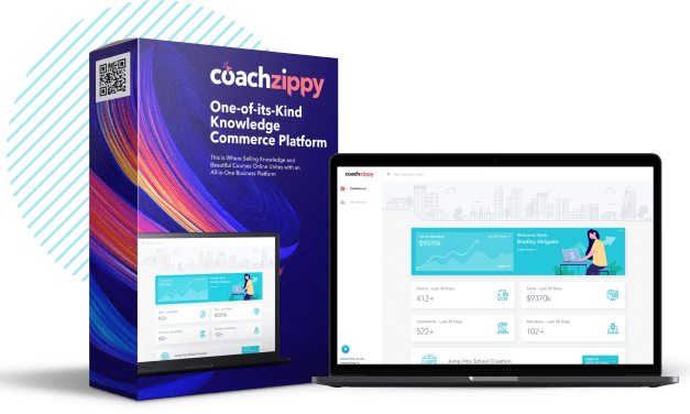 CoachZippy |  All-in-one business platform that allows you to make and sell beautiful courses online