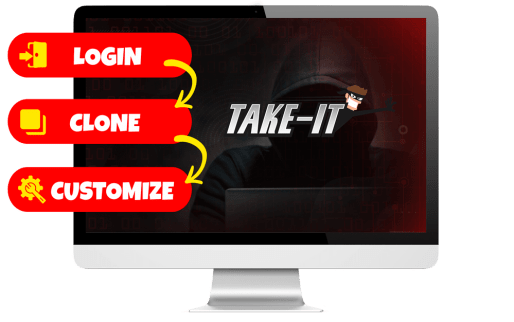 Take It Review | Clone any Page and Steal Viral Traffic For Your Own Offers 1