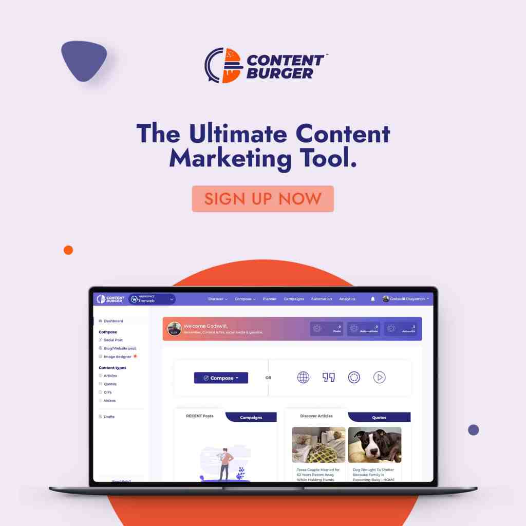 ContentBurger | All in one Content Marketing and Social Media Automation Suite 17