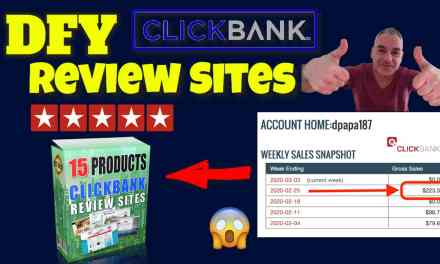 CB Reviews Website – DFY websites for daily ClickBank commissions