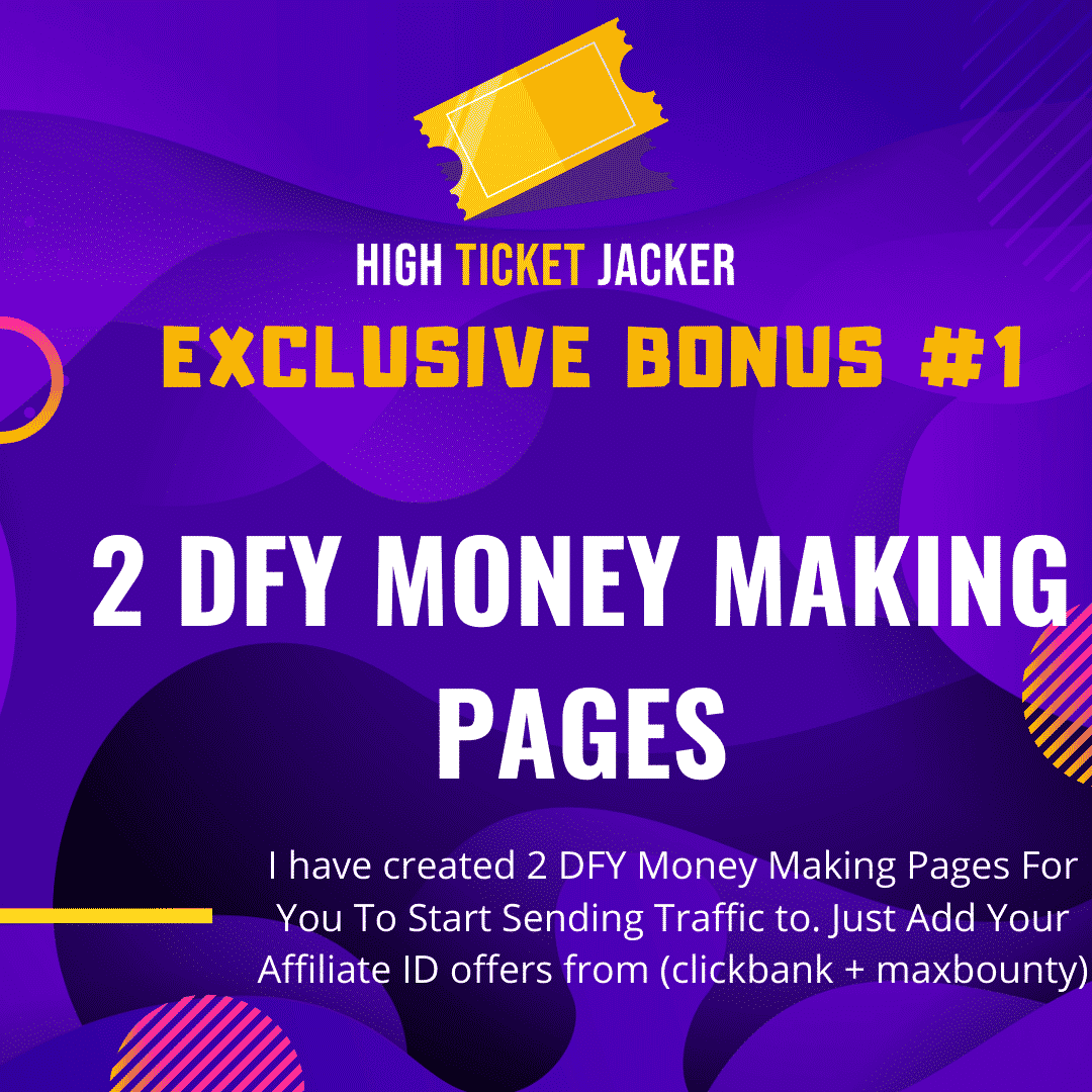 High-Ticket Jacker   Generate High Ticket Commissions With Free Traffic 6