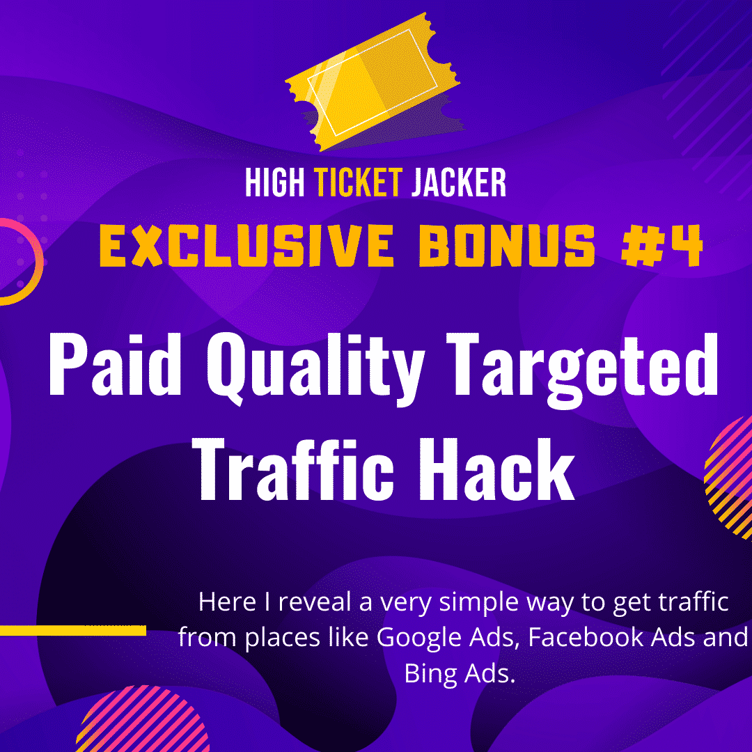 High-Ticket Jacker | Generate High Ticket Commissions With Free Traffic 9