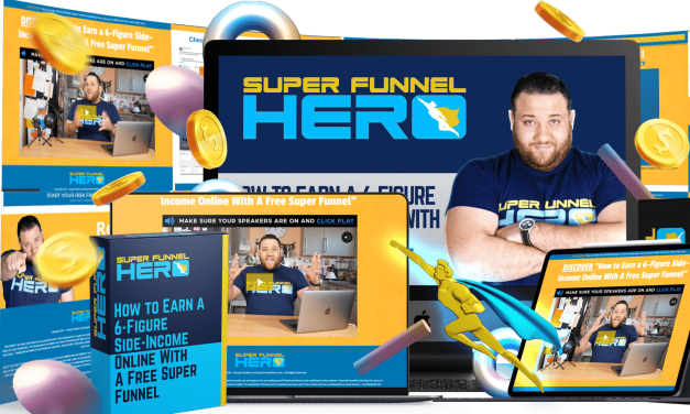 "DISCOVER ""How to Earn a 6-Figure Side-Income Online With A Free Super Funnel"""
