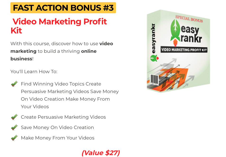 How To Promote Clickbank Offers With Youtube | 🔥 EasyRankr Real Case Study 🔥 9