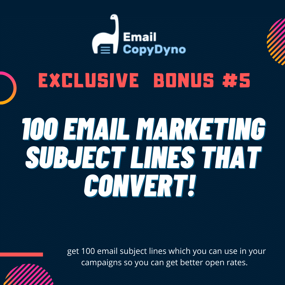 Email CopyDyno | Start Making Money with Email Marketing 9