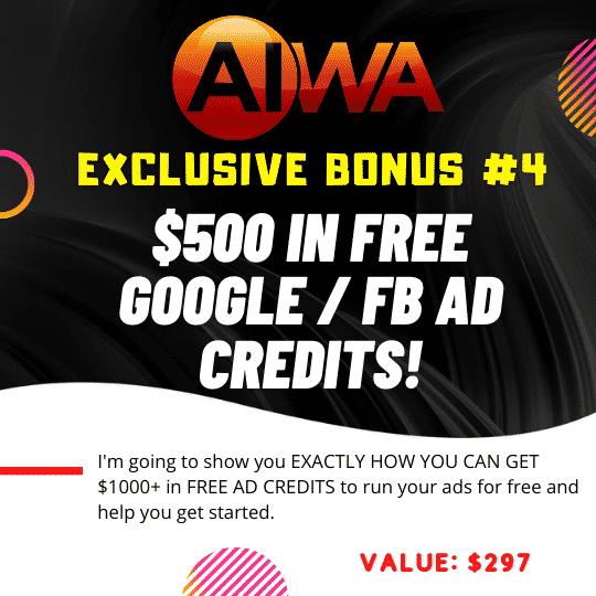 Create Websites using just a keyword using AIWA 7