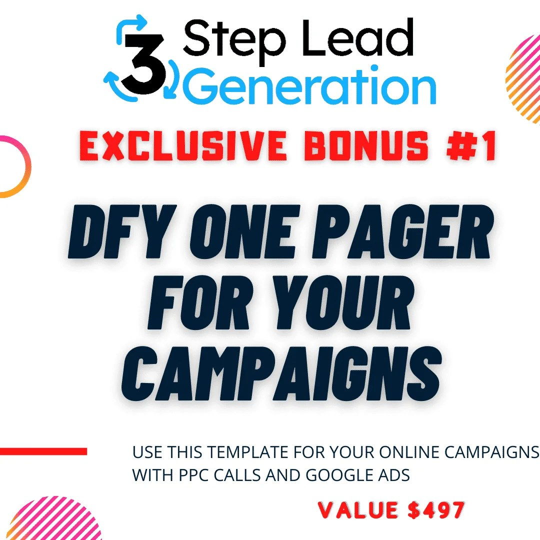 3 Step Lead Generation | A Brand New Client-Getting Secret 5