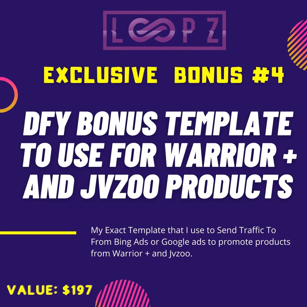 Loopz Review | Copy Websites and Landing Pages To Generate Commissions 9