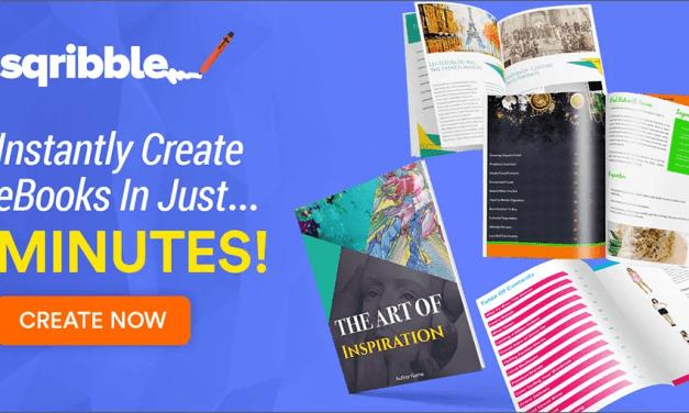 """""""Sqribble Ebook Creator REVIEWED!"""""""