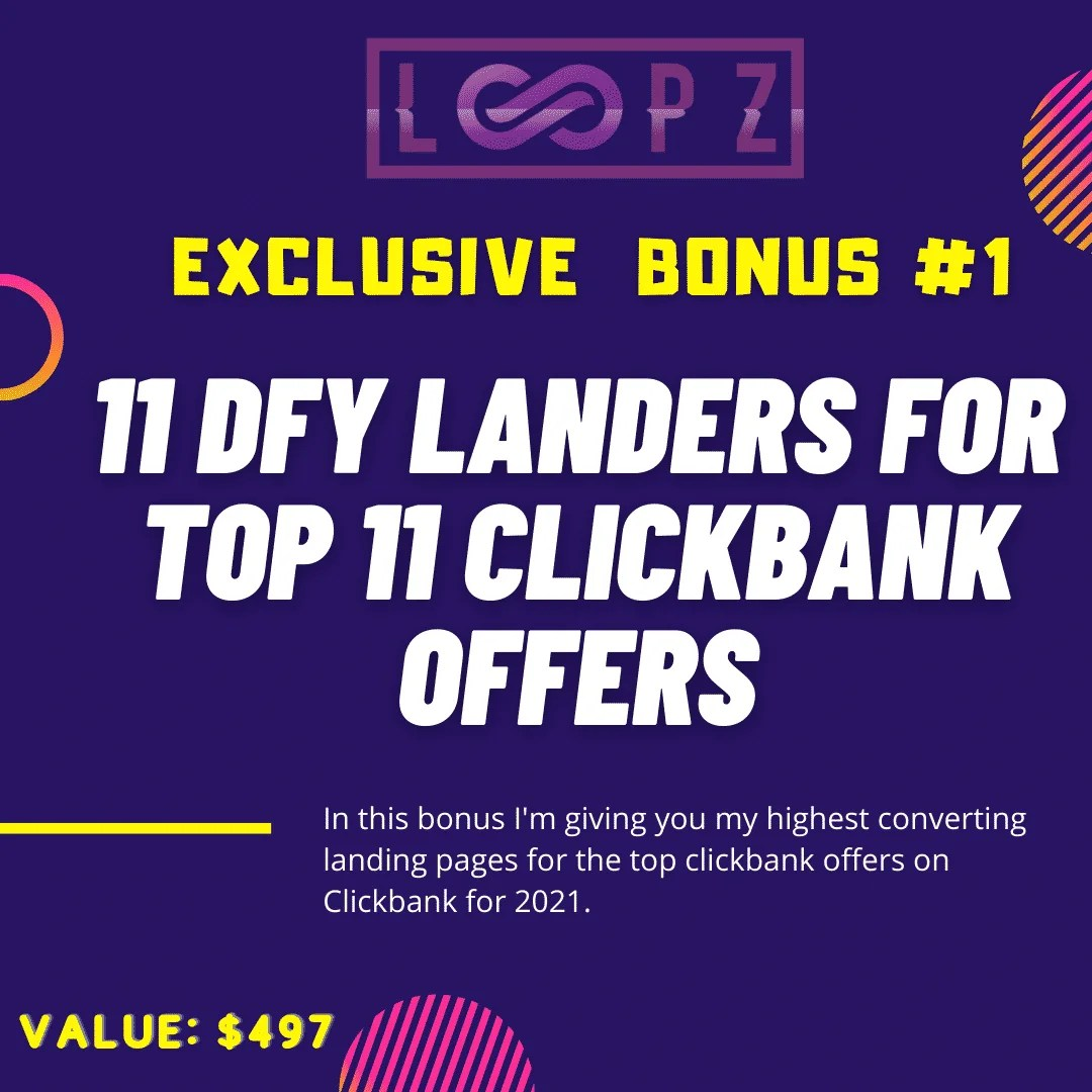 Loopz Review | Copy Websites and Landing Pages To Generate Commissions 6