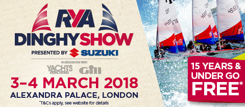 D-Zeros at the RYA Dinghy Show 2018 – Stand G6