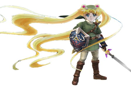 Link as female x 2