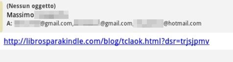 mail di attacco