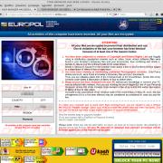 Pagina fraudolenta Europol