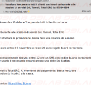 messagio di posta fraudolento