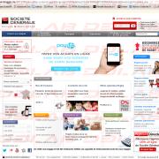 société général phishing paqe