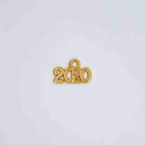 schriften jahreszahl 2020 gold 15x10mm