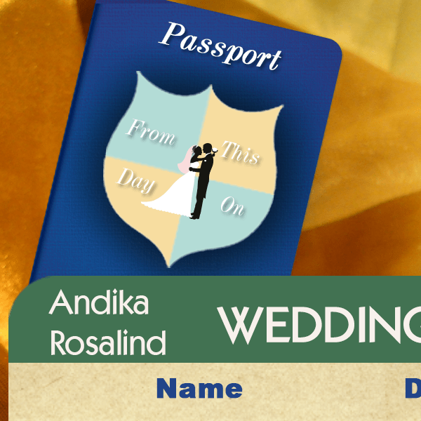 Ros and Andika's Wedding Invite