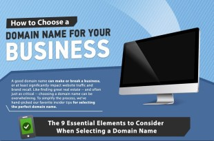 9 Essential Elements To Consider When Choosing A Domain Name