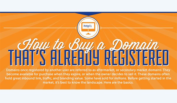 Step By Step Guide On How To Buy A Registered Domain Name