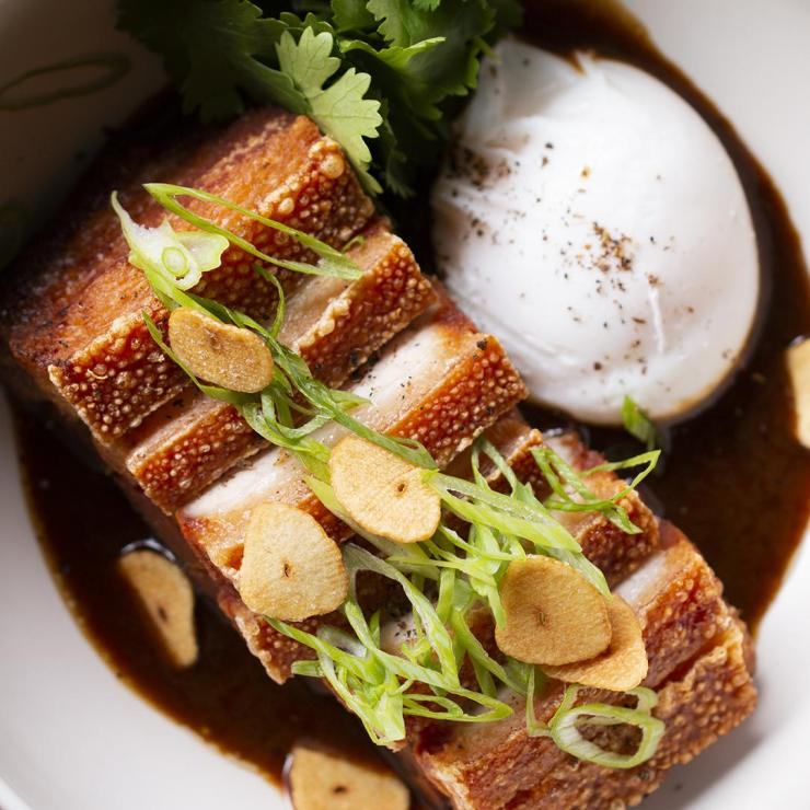 Braised Pork Belly Adobo By Chef Leah Cohen
