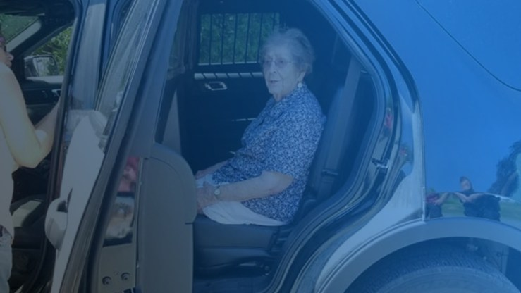 Maine woman who loves 'Cops' gets 'arrested' for her 93rd birthday