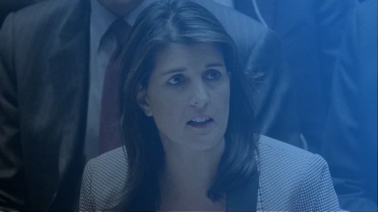 nikki haley slams the UN