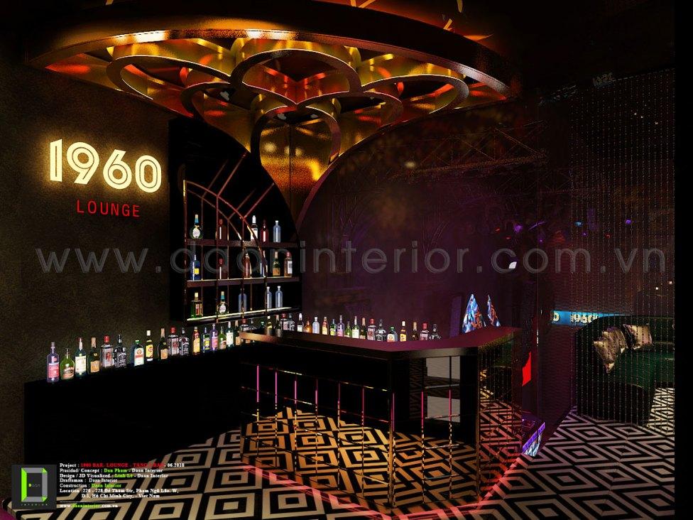 1960 bar lounge
