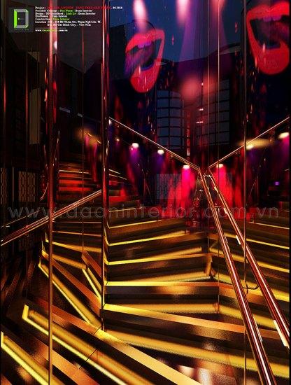 cầu thang 1960 bar lounge